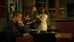 Paul Robinson, Declan Napier, Rebecca Napier in Neighbours Episode 5924