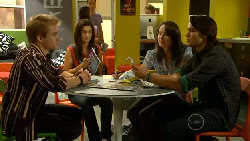 Ringo Brown, Naomi Lord, Kate Ramsay, Declan Napier in Neighbours Episode 5924