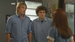 Andrew Robinson, Harry Ramsay, Summer Hoyland in Neighbours Episode 5926