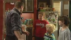 Toadie Rebecchi, Callum Jones, Charlie Hoyland, Ben Kirk in Neighbours Episode 5927