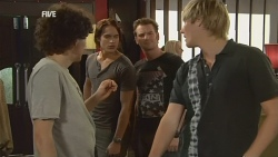Harry Ramsay, Declan Napier, Lucas Fitzgerald, Andrew Robinson in Neighbours Episode 5928