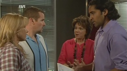 Steph Scully, Toadie Rebecchi, Lyn Scully, Doug Harris in Neighbours Episode 5928