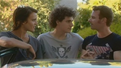 Declan Napier, Harry Ramsay, Lucas Fitzgerald in Neighbours Episode 5928