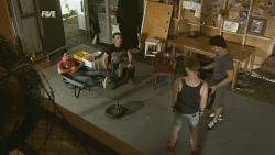 Zeke Kinski, Lucas Fitzgerald, Ringo Brown, Declan Napier in Neighbours Episode 5929