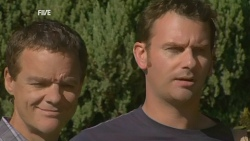 Paul Robinson, Lucas Fitzgerald in Neighbours Episode 5929