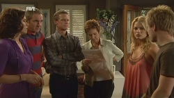Rebecca Napier, Karl Kennedy, Paul Robinson, Susan Kennedy, Donna Freedman, Ringo Brown in Neighbours Episode 5930
