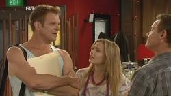 Michael Williams, Natasha Williams, Paul Robinson in Neighbours Episode 5930