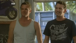 Michael Williams, Lucas Fitzgerald in Neighbours Episode 5930
