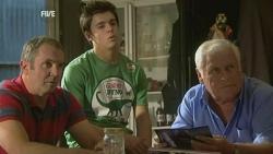 Karl Kennedy, Zeke Kinski, Lou Carpenter in Neighbours Episode 5930