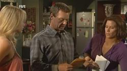 Donna Freedman, Paul Robinson, Rebecca Napier in Neighbours Episode 5930