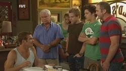 Michael Williams, Lou Carpenter, Ringo Brown, Zeke Kinski, Karl Kennedy in Neighbours Episode 5930
