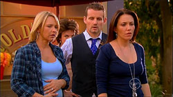 Steph Scully, Lyn Scully, Toadie Rebecchi, Libby Kennedy in Neighbours Episode 5963