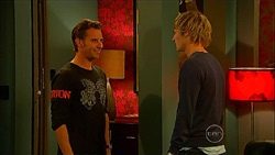 Lucas Fitzgerald, Andrew Robinson in Neighbours Episode 5965