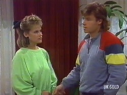 Daphne Clarke, Mike Young in Neighbours Episode 0437