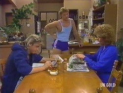 Shane Ramsay, Henry Ramsay, Madge Bishop in Neighbours Episode 0437