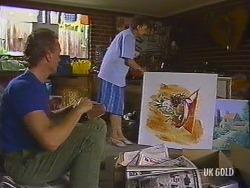 Jim Robinson, Nell Mangel in Neighbours Episode 0437
