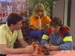 Des Clarke, Jane Harris, Mike Young in Neighbours Episode 0437
