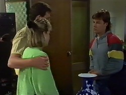 Des Clarke, Daphne Clarke, Mike Young in Neighbours Episode 0438
