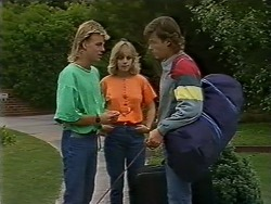 Scott Robinson, Jane Harris, Mike Young in Neighbours Episode 0438