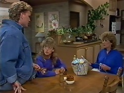 Henry Ramsay, Charlene Mitchell, Madge Bishop in Neighbours Episode 0438