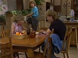 Charlene Mitchell, Madge Bishop, Henry Ramsay in Neighbours Episode 0438