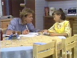 Scott Robinson, Lucy Robinson in Neighbours Episode 0439