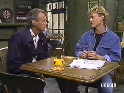 Jim Robinson, Henry Mitchell in Neighbours Episode 0439