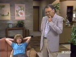 Madge Mitchell, Harold Bishop in Neighbours Episode 0439