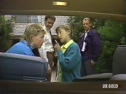 Scott Robinson, Paul Robinson, Lucy Robinson, Jim Robinson in Neighbours Episode 0439