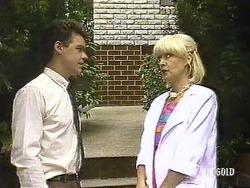 Paul Robinson, Rosemary Daniels in Neighbours Episode 0439