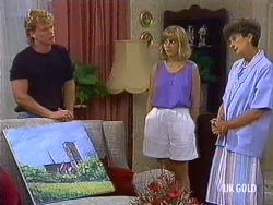 Henry Ramsay, Jane Harris, Nell Mangel in Neighbours Episode 0440