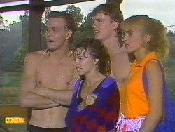 Scott Robinson, Charlene Mitchell, Henry Ramsay, Jane Harris in Neighbours Episode 0670