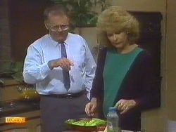 Harold Bishop, Madge Bishop in Neighbours Episode 0670