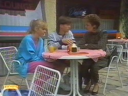 Jane Harris, Mike Young, Gail Robinson in Neighbours Episode 0671