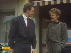 Paul Robinson, Gail Robinson in Neighbours Episode 0671