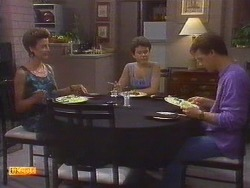 Gail Robinson, Lucy Robinson, Paul Robinson in Neighbours Episode 0671