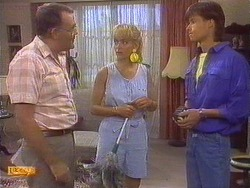 Harold Bishop, Jane Harris, Mike Young in Neighbours Episode 0672