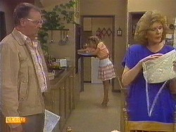 Harold Bishop, Charlene Mitchell, Madge Bishop in Neighbours Episode 0672