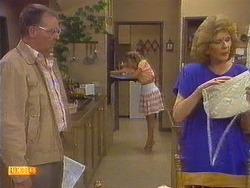 Harold Bishop, Charlene Robinson, Madge Ramsay in Neighbours Episode 0672