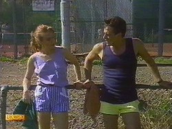 Sally Wells, Tony Romeo in Neighbours Episode 0672