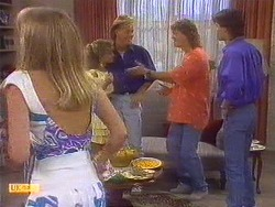 Jane Harris, Charlene Robinson, Scott Robinson, Henry Ramsay, Mike Young in Neighbours Episode 0672