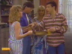 Sally Wells, Mike Young, Jane Harris, Tony Romeo in Neighbours Episode 0672