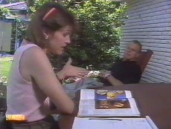 Beverly Marshall, Jim Robinson in Neighbours Episode 0673