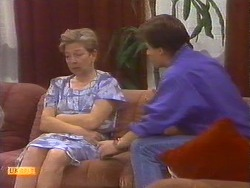 Eileen Clarke, Mike Young in Neighbours Episode 0673