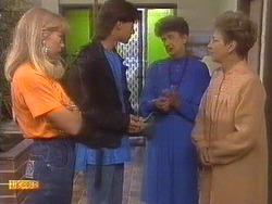 Jane Harris, Mike Young, Nell Mangel, Eileen Clarke in Neighbours Episode 0673