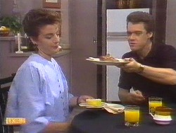 Gail Robinson, Paul Robinson in Neighbours Episode 0673