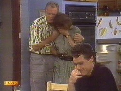 Jim Robinson, Beverly Marshall, Paul Robinson in Neighbours Episode 0673