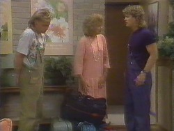 Scott Robinson, Madge Ramsay, Henry Ramsay in Neighbours Episode 0675