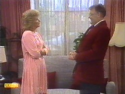 Madge Ramsay, Harold Bishop in Neighbours Episode 0675