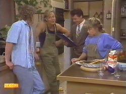 Henry Ramsay, Scott Robinson, Paul Robinson, Charlene Robinson in Neighbours Episode 0675